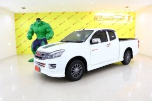 ISUZU D-MAX Spackcab ปี2014 สีขาว MT ใช้เงินเพียง  10,000  บาท ออกรถได้ทันที ราคา 589,000 บาท