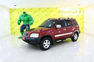 HONDA CRV ปี2001 สีแดง AT   ใช้เงินเพียง 10,000 บาท ออกรถได้ทันที ราคา 168,000 บาท