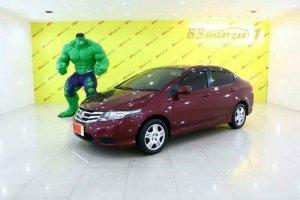 HONDA  NEW CITY สีแดง ปี2013 เบนซิน AT ใช้เงินเพียง 10,000 บาท ออกรถได้ทันที ราคา 353,000 บาท