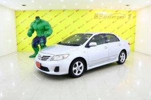 TOYOTA NEW ALTIS ปี2012 สีเทา AT  ใช้เงินเพียง 10,000 บ. ออกรถได้ทันที ราคา 369,000 บาท