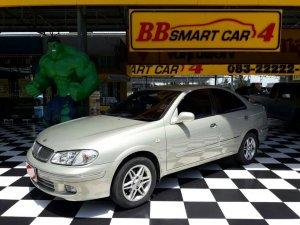 NISSAN  SUNNY NEO ปี2003 AT เบนซิน สีน้ำตาล ใช้เงินเพียง 10,000 บ. ออกรถได้ทันที ราคา : 139,000 บาท